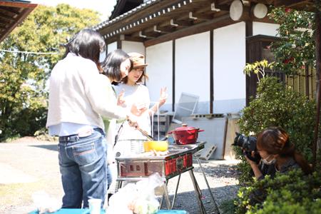 〜日の丸花見会 BBQの巻〜_b0203705_1438207.jpg