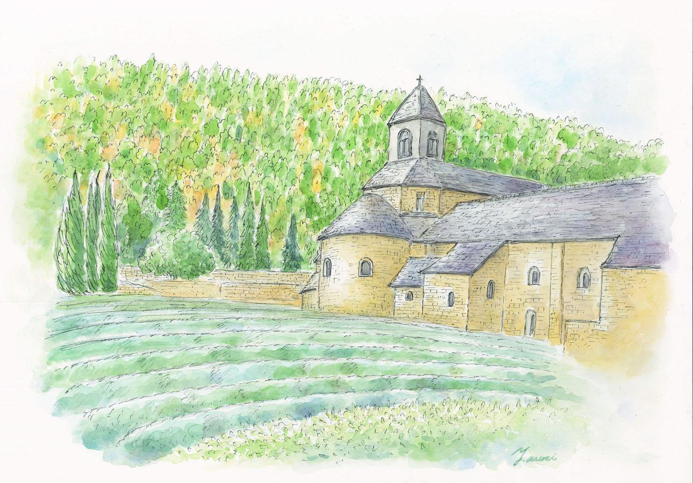 浅見 有紀「南仏プロヴァンスへの旅」 ※写真追加_e0091712_2342175.jpg
