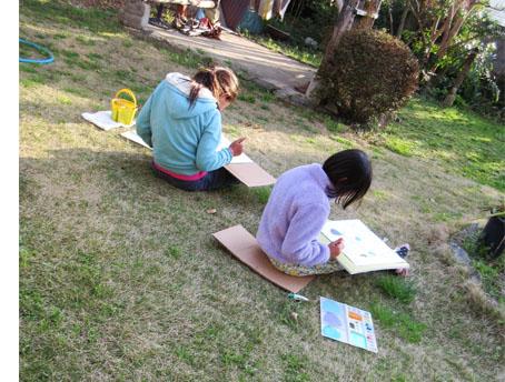 春を感じながら・比良 小学生クラス_f0211514_22221346.jpg
