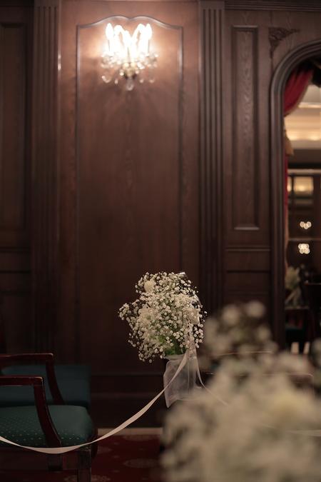 春の装花 ガーベラ シェ松尾青山サロン様へ と母の日休止のお知らせ_a0042928_22294196.jpg