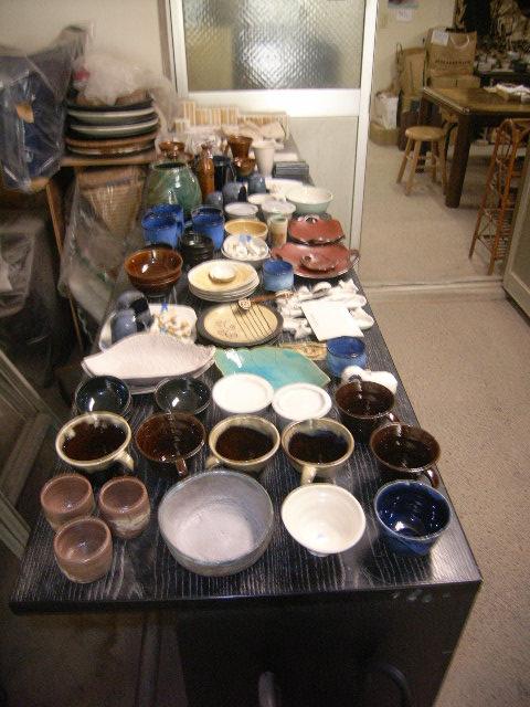 酸化焼成(OF)の窯があがりました。_e0046128_13192067.jpg