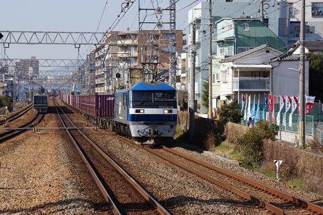 藤田八束の貨物列車写真集:地方創生に貢献、貨物列車「桃太郎」の素晴らしい勇姿_d0181492_2136444.jpg