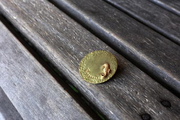 真鍮のブローチです_b0165512_1022325.jpg