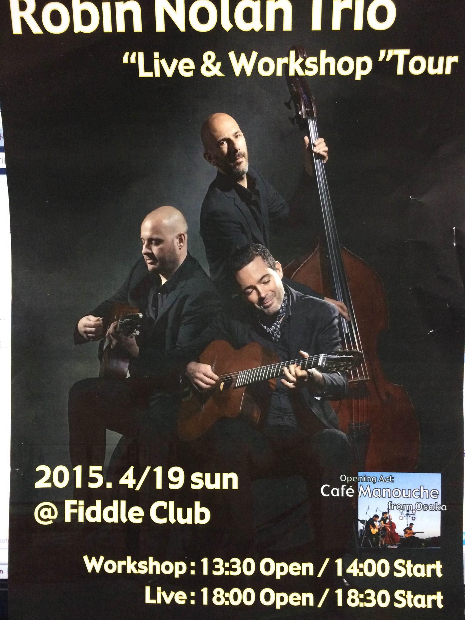 [大阪]4/18(土)19(日)Robin Nolan Trio/CafeManouche_c0091117_1262813.jpg