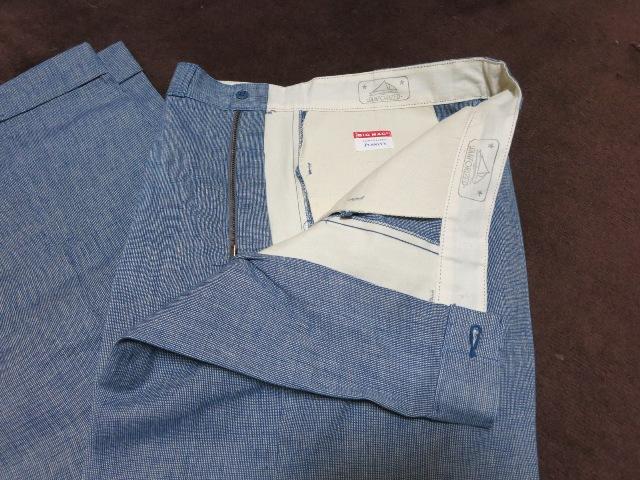 アメリカ仕入れ情報#54 デッドストック 60'S~BIC MAC ピンチェック パンツ!_c0144020_1553888.jpg