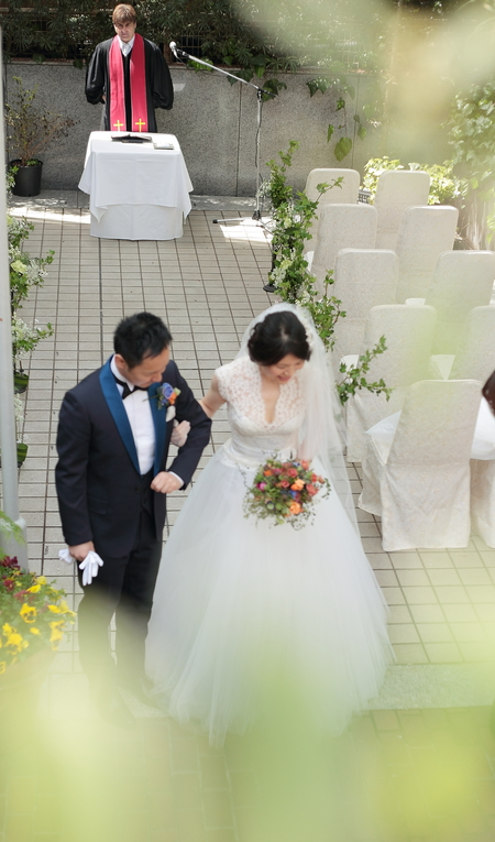 春の装花 PACHON様へのウエディングで、花嫁様に言われたこと _a0042928_21554316.jpg