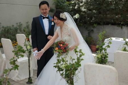春の装花 PACHON様へのウエディングで、花嫁様に言われたこと _a0042928_21563099.jpg