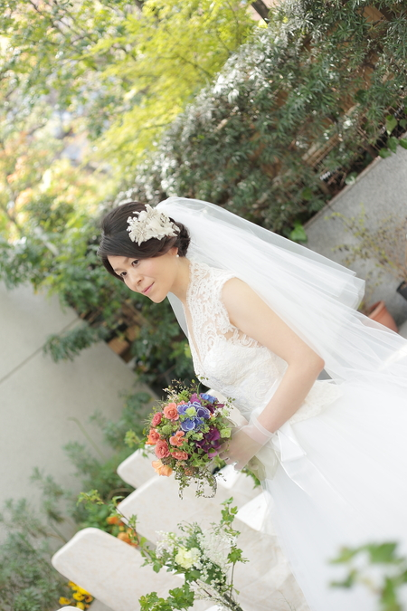 春の装花 PACHON様へのウエディングで、花嫁様に言われたこと _a0042928_21571431.jpg