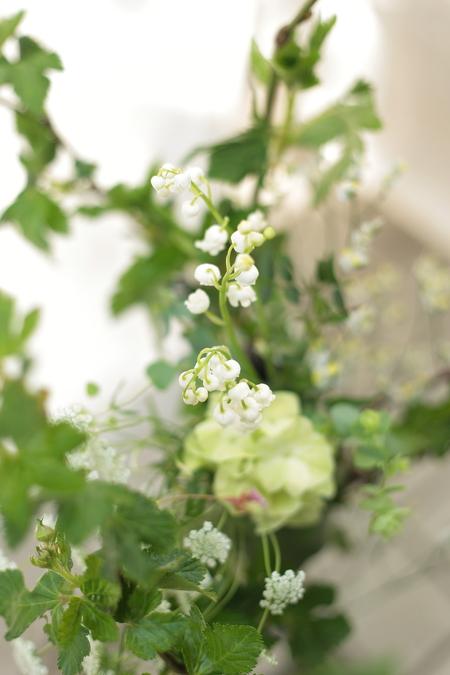 春の装花 PACHON様へのウエディングで、花嫁様に言われたこと _a0042928_22102949.jpg