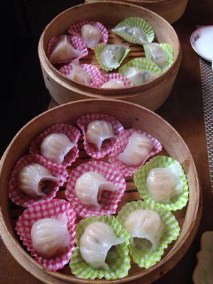 蝦蒸し餃子とニラ餃子レッスン_a0175348_18234383.jpg