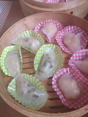 蝦蒸し餃子とニラ餃子レッスン_a0175348_18234652.jpg