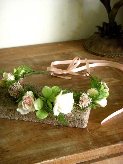 洗礼の儀式の花冠。。。_a0229658_12103486.jpg