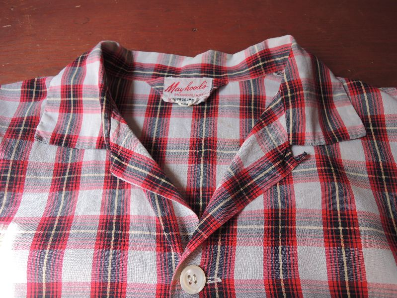 50S60S PAJAMA SHIRTS--RECOMMEND--_c0176867_1945981.jpg