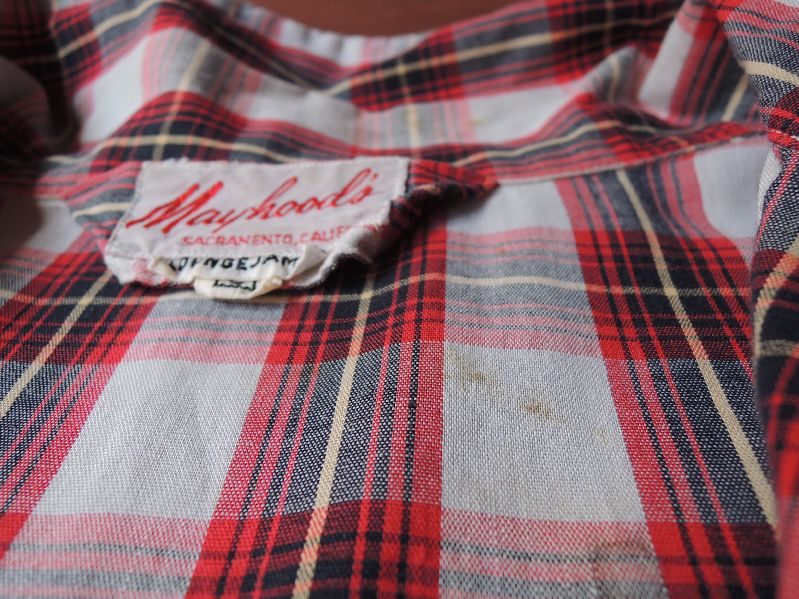 50S60S PAJAMA SHIRTS--RECOMMEND--_c0176867_196761.jpg