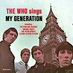 The Who 「The Who Sings My Generation」 (1965)_c0048418_14441807.jpg