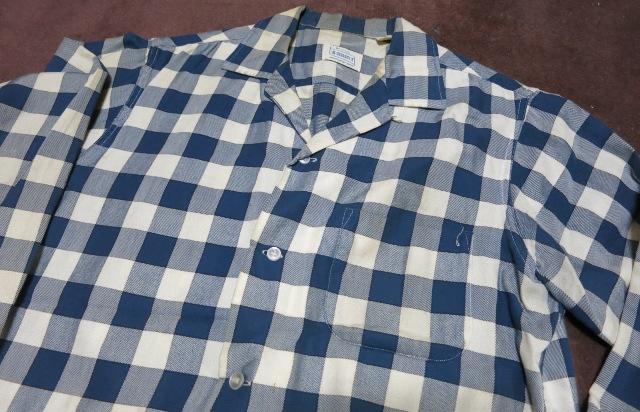 アメリカ仕入れ情報#55 60\'S BRENT BLOCK チェック shirts!_c0144020_14562570.jpg