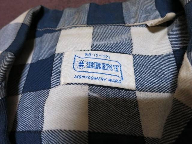 アメリカ仕入れ情報#55 60\'S BRENT BLOCK チェック shirts!_c0144020_14562991.jpg