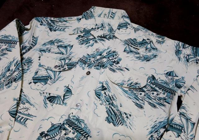 アメリカ仕入れ情報#56 40'S UNKNOWN ツイルハワイアンシャツ!_c0144020_1504430.jpg