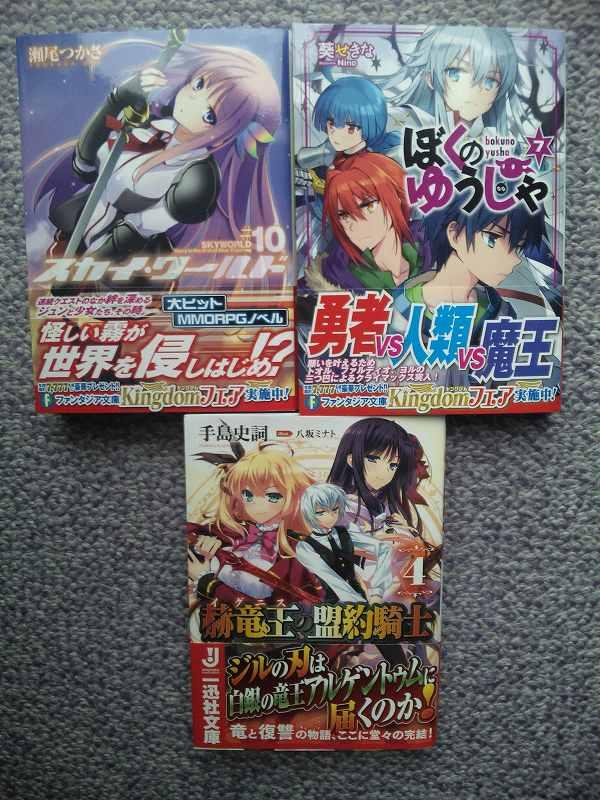 今日は富士見ファンタジア文庫と一迅社文庫の発売日です_e0172041_10171239.jpg