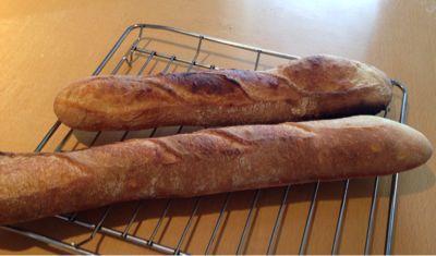 フランスパンとガトーショコラ_a0175348_8324131.jpg