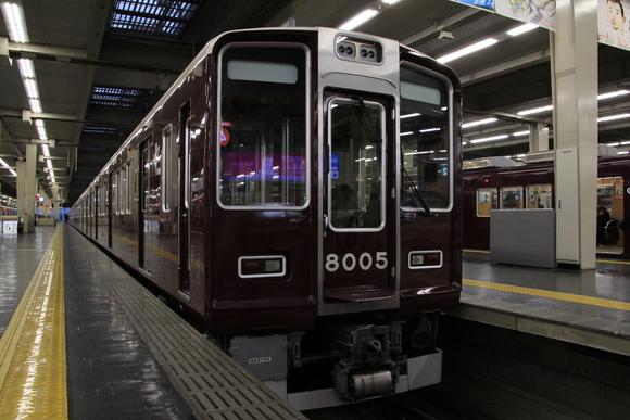 阪急梅田駅 朝・・_d0202264_23542658.jpg