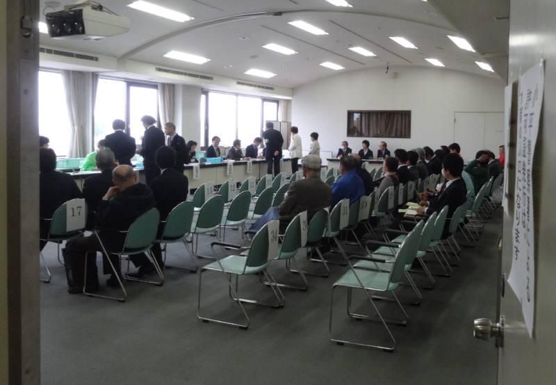 小平市議会議員選挙(初日)_f0059673_21531837.jpg