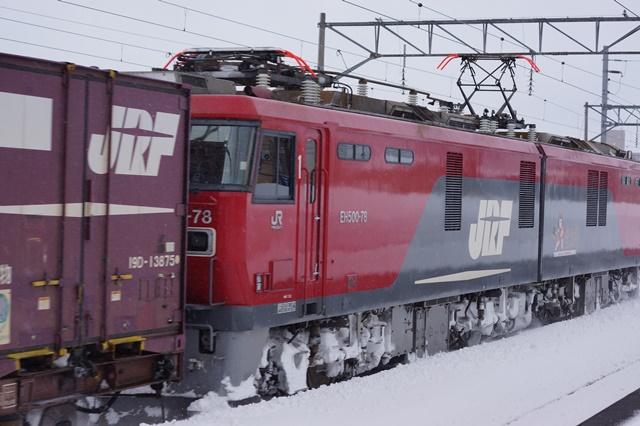 藤田八束の北国の列車を訪ねる旅:北国の列車たち、極寒風雪の中で頑張っています_d0181492_1705221.jpg