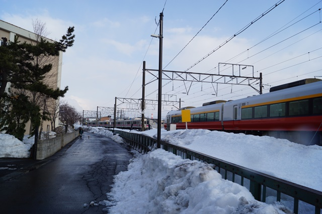 藤田八束の北国の列車を訪ねる旅:北国の列車たち、極寒風雪の中で頑張っています_d0181492_1762440.jpg