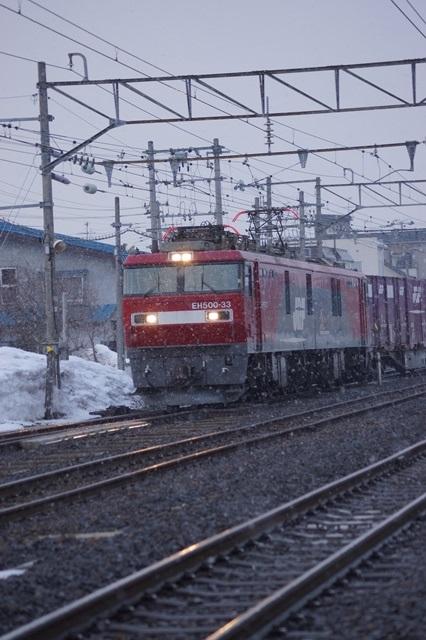 藤田八束の北国の列車を訪ねる旅:北国の列車たち、極寒風雪の中で頑張っています_d0181492_1775195.jpg