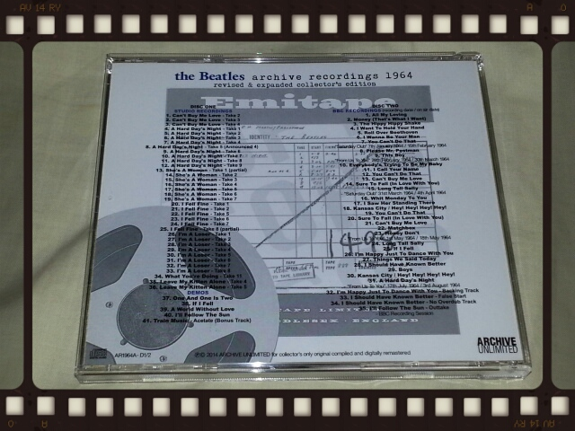 the Beatles archive recordings 1964 revised & expanded collector\'s edition_b0042308_16301371.jpg