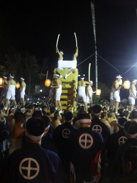4月の19日は、古川祭、起し太鼓〜!_e0114208_14133225.jpg