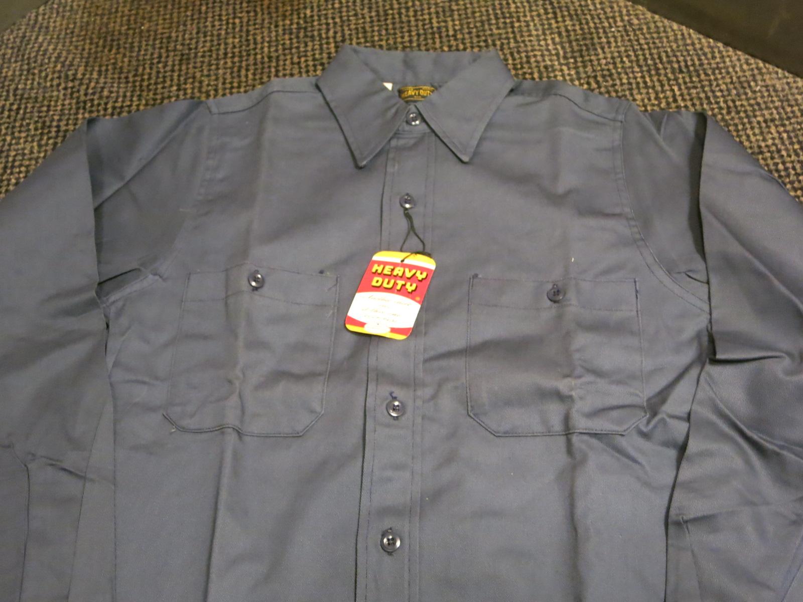 アメリカ仕入れ情報#57 デッドストック! 50\'S HEAVY DUTY cotton twill work shirts! _c0144020_1357270.jpg
