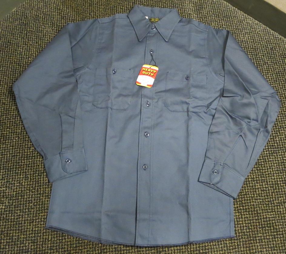 アメリカ仕入れ情報#57 デッドストック! 50\'S HEAVY DUTY cotton twill work shirts! _c0144020_1357510.jpg