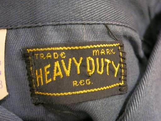 アメリカ仕入れ情報#57 デッドストック! 50\'S HEAVY DUTY cotton twill work shirts! _c0144020_1357785.jpg