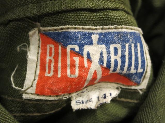 アメリカ仕入れ情報#58 40's HBT BIGBILL WORK SHIRTS_c0144020_1414190.jpg
