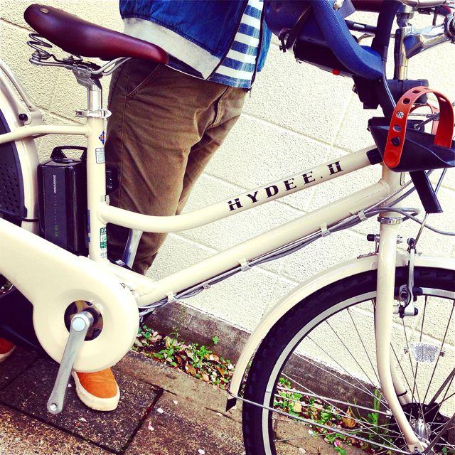 「HYDEE.Ⅱ 滝沢眞規子 限定モデル 」ハイディ2 ビッケ2e おしゃれ 自転車  mama 電動  ステップクルーズ _b0212032_202366.jpg