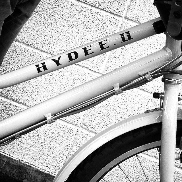 「HYDEE.Ⅱ 滝沢眞規子 限定モデル 」ハイディ2 ビッケ2e おしゃれ 自転車  mama 電動  ステップクルーズ _b0212032_203074.jpg