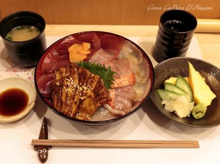 料理の風景 穴子海鮮丼_b0133053_0402755.jpg