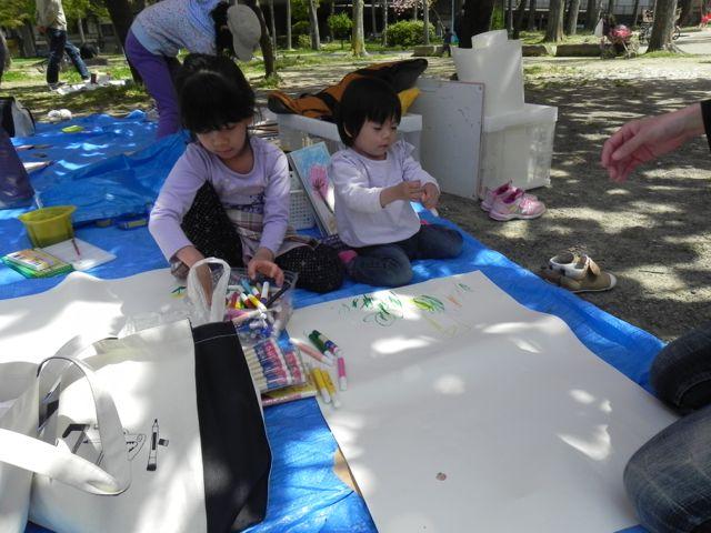 八重桜で写生会_d0076558_62919.jpg
