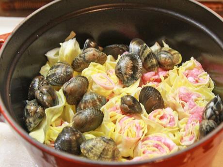 春野菜とあさりのスープ_a0216871_923887.jpg