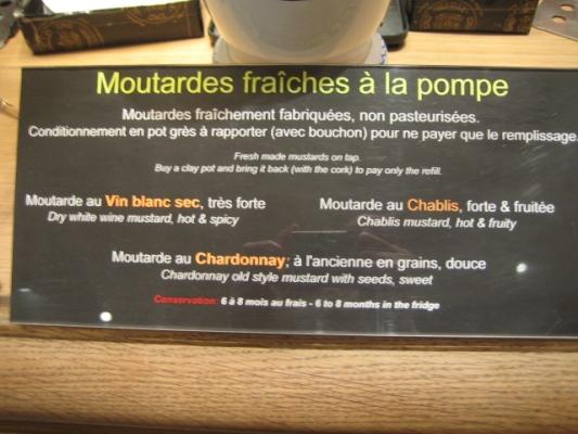 Paris 私のお気に入り ~食材編~ 「マイユのフレッシュ・マスタード」_c0138180_17553175.jpg