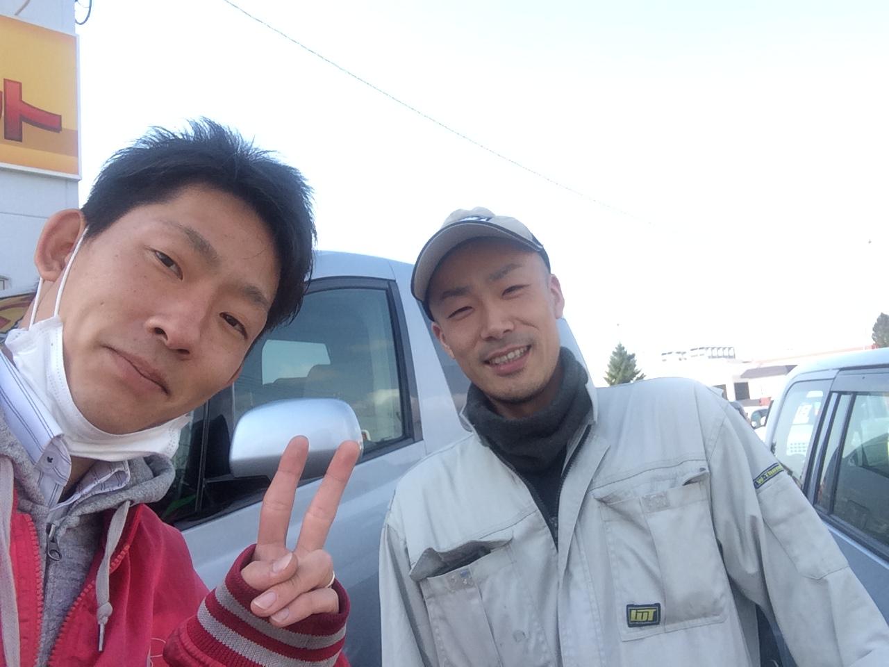 4月21日(火)アウトレット☆K様パジェロご成約♪♪ワカブロ☆_b0127002_20425635.jpg