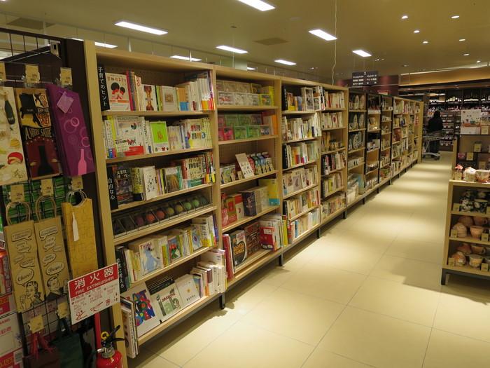 ららぽーと富士見店のブックカフェBOWLとヤオコーの書籍売場_a0018105_17173767.jpg