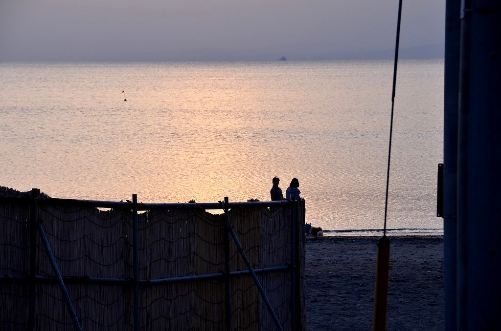 海辺のシルエット_d0065116_20265569.jpg