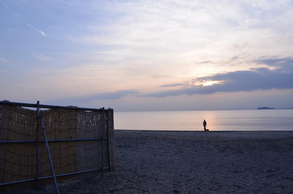 海辺のシルエット_d0065116_20274987.jpg