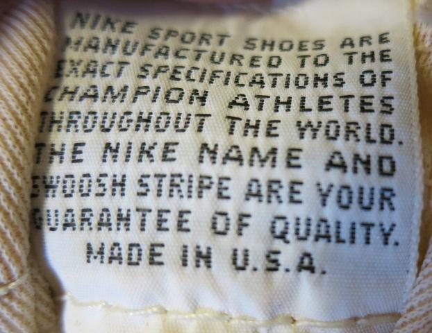 アメリカ仕入れ情報#59 70'S アメリカ製 NIKE WAFFLE2 9 1/2_c0144020_1105654.jpg