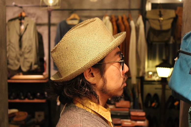 "\""SAN FRANCISCO HAT\"" エクアドル産PANAMA HAT ご紹介_f0191324_10112142.jpg"