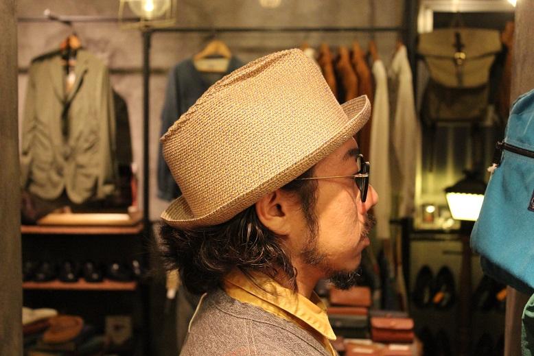 "\""SAN FRANCISCO HAT\"" エクアドル産PANAMA HAT ご紹介_f0191324_10115673.jpg"