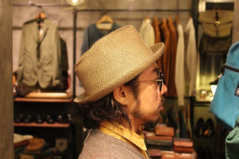 "\""SAN FRANCISCO HAT\"" エクアドル産PANAMA HAT ご紹介_f0191324_10123263.jpg"