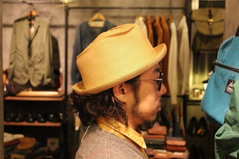 "\""SAN FRANCISCO HAT\"" エクアドル産PANAMA HAT ご紹介_f0191324_10131146.jpg"